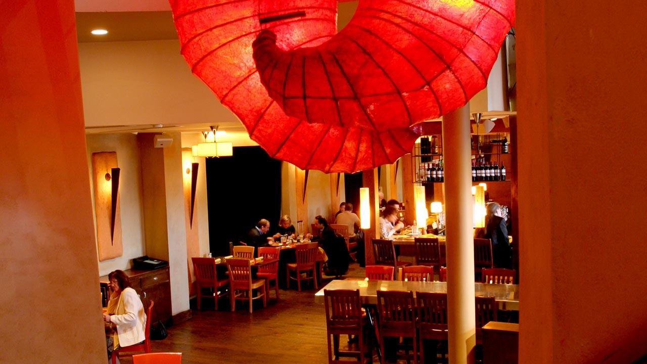 restaurant interior tables