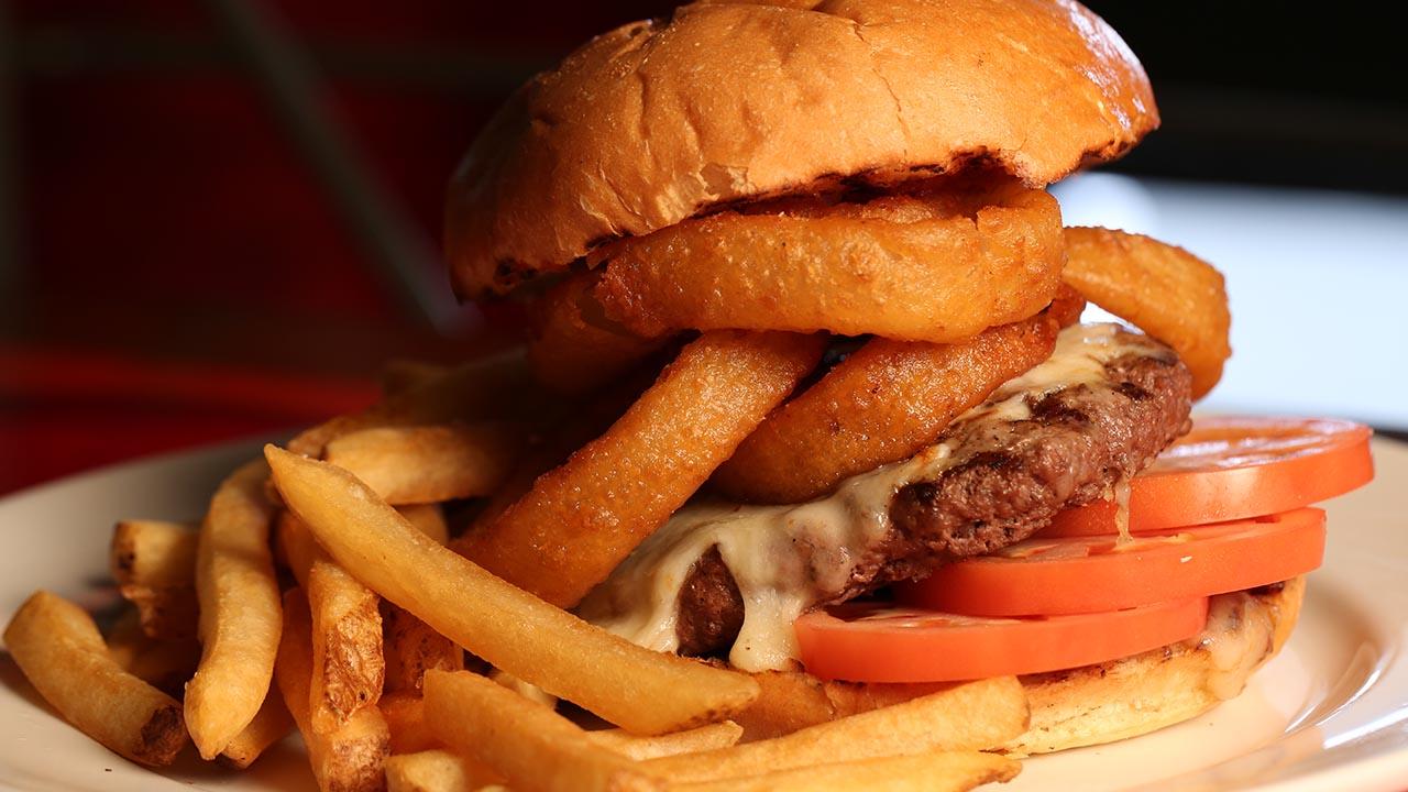 steak onion burger